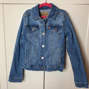 Girl's Levi's Classic Jean Jacket
